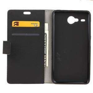 Gregory peněženkové pouzdro na Acer Liquid Z520 - černé - 3