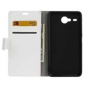 Gregory peňaženkové puzdro pre Acer Liquid Z520 - biele - 3
