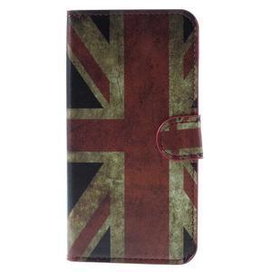 Valet peňaženkové puzdro pre Acer Liquid Z530 - UK vlajka - 3