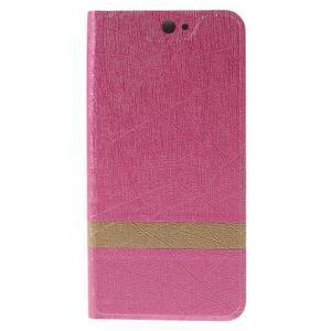 Klopové puzdro pre mobil Acer Liquid Z530 - rose - 3
