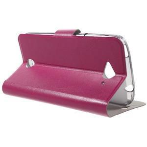Horse peňaženkové puzdro pre mobil Acer Liquid Z530 - rose - 3