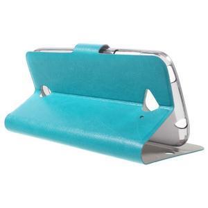 Horse peňaženkové puzdro pre mobil Acer Liquid Z530 - modré - 3