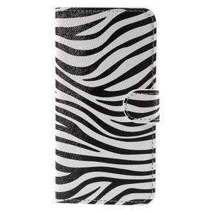 Valet peněženkové pouzdro na Acer Liquid Z530 - zebra - 3