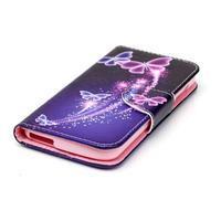 Luxy peňaženkové puzdro pre Acer Liquid Z530 - kouzelní motýľci - 3/6