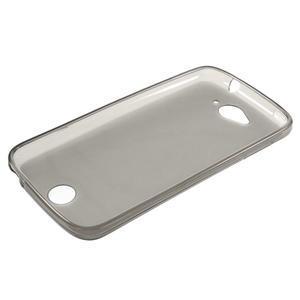 Matný gelový obal na Acer Liquid Z530 - šedý - 3