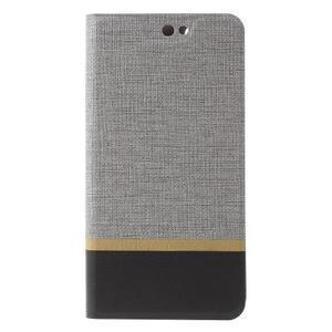 Klopové puzdro pre mobil Acer Liquid Z630 - šedé - 3