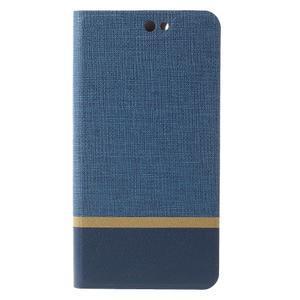 Klopové puzdro pre mobil Acer Liquid Z630 - modré - 3