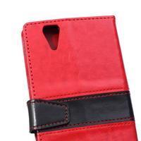 Lines pouzdro na mobil Acer Liquid Z630 - červené - 3/7