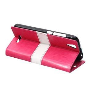 Lines pouzdro na mobil Acer Liquid Z630 - rose - 3