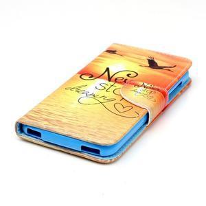 Peňaženkové puzdro pre mobil Acer Liquid Z630 - neprestávaj sniet - 3