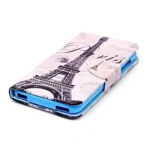 Peňaženkové puzdro pre mobil Acer Liquid Z630 - Eiffelova veža - 3