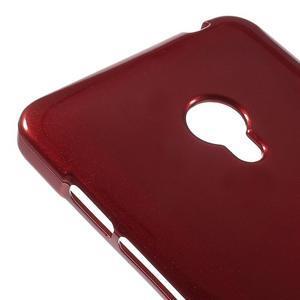Tmavo červený gélový obal pre Asus Zenfone 5 - 3