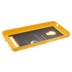 Gélový obal na Asus Zenfone 5 - oranžový - 3