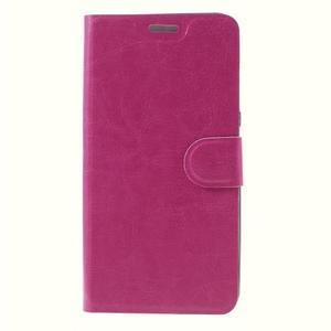 Horse peňaženkové puzdro pre Asus Zenfone Max - rose - 3