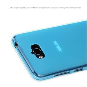 Matný gelový obal na Asus Zenfone Max - modrý - 3