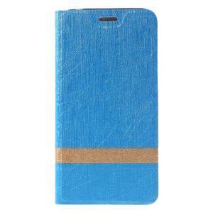 Lines klopovové pouzdro na Asus Zenfone Max - modré - 3