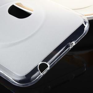 Gélový matný obal pre mobil Asus Zenfone Zoom - biely - 3