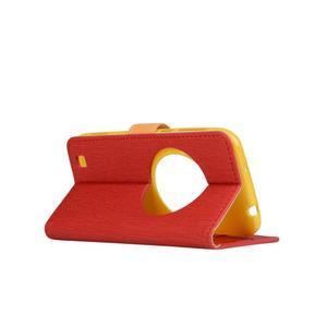 PU kožené puzdro pre Asus Zenfone Zoom - červené - 3