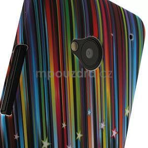 Plastový kryt pre HTC One M7 - meteor - 3