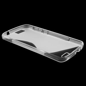 Gélový kryt S-line Huawei Ascend G7 - transparentný - 3