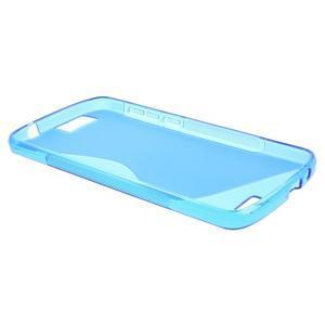 Gélový kryt S-line Huawei Ascend G7 - modrý - 3