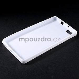 Bílý S-line gelový obal na Huawei Ascend P8 Lite - 3