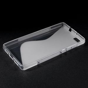 Transparentní S-line gelový obal na Huawei Ascend P8 Lite - 3