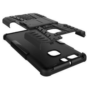 Outdoor ochranný kryt na mobil Huawei P9 - černé - 3