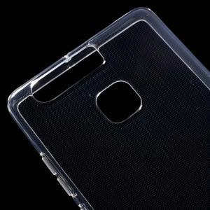 Transparentné gélový obal pre mobil Huawei P9 - 3