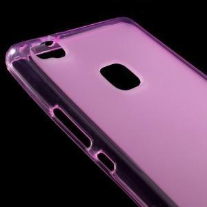 Matný gélový obal pre mobil Huawei P9 lite - rosa - 3