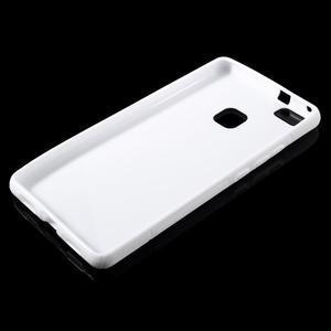 S-line gelový obal na mobil Huawei P9 Lite - bílý - 3