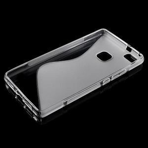 S-line gelový obal na mobil Huawei P9 Lite - transparentní - 3