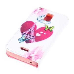 Peňaženkové puzdro na mobil Huawei Y3 a Y360 - srdce - 3