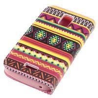 Peněženkové pouzdro na mobil Huawei Y3 a Y360 - tribal - 3/6