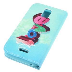 Peňaženkové puzdro na mobil Huawei Y3 a Y360 - love - 3