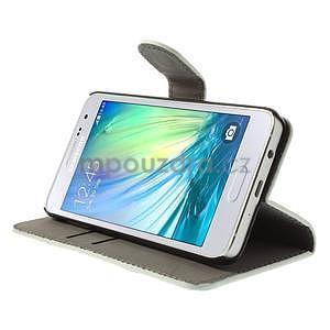 Stylové klopové puzdro na Samsung Galaxy A3 - Eiffel - 3