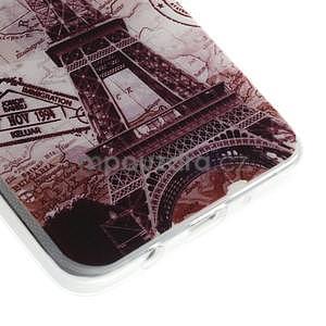 Gélový obal pre Samsung Galaxy A3 - Eiffelova veža - 3