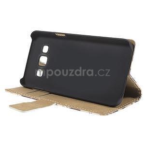 Peňaženkové puzdro na Samsung Galaxy A3 - Eiffelova veža - 3