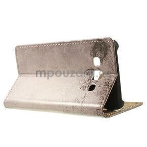 Peňaženkové puzdro pre Samsung Galaxy A3    - mačička - 3