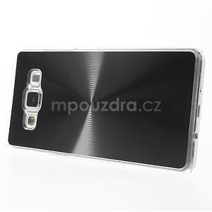 Čierny metalický kryt na Samsung Galaxy A5 - 3