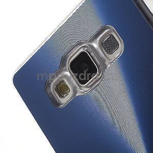 Modrý metalický kryt pre Samsung Galaxy A5 - 3
