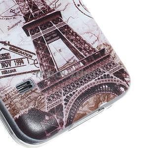 Ultra tenký gélový obal Samsung Galaxy S5 mini - Eiffel - 3