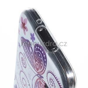 Ultra tenký gélový obal Samsung Galaxy S5 mini - motýlek - 3