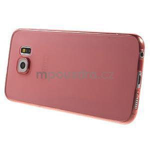 Ultra tenký obal na Samsung Galaxy S6 - červený - 3