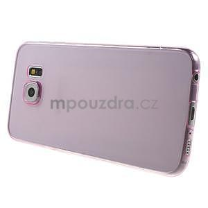 Ultra tenký obal na Samsung Galaxy S6 - rose - 3
