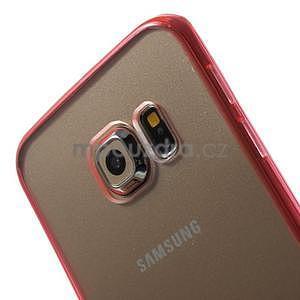 Rose hybridný gélový obal pre Samsung Galaxy S6 Edge - 3