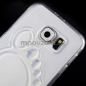 Protiskluzový gélový kryt na Samsung Galaxy S6 - transparentný - 3