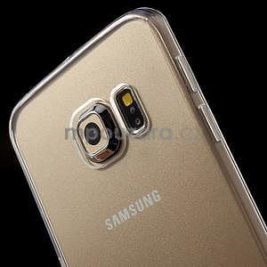 Transparentní hybridný gélový obal na Samsung Galaxy S6 Edge - 3