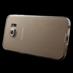 Ultra tenký gélový obal pre Samsung Galaxy S6 Edge - tranparentní - 3
