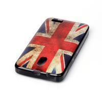 Jelly gelový obal na Lenovo A319 - UK vlajka - 3/3